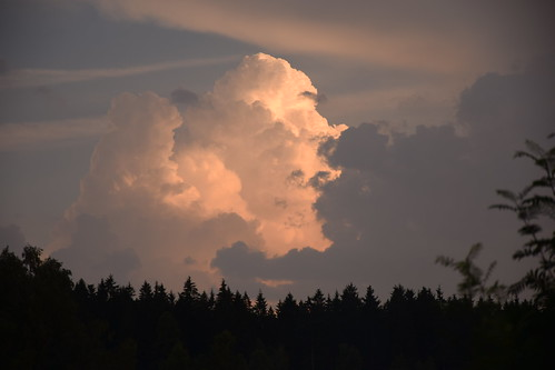 summer sky cloud weather supercell