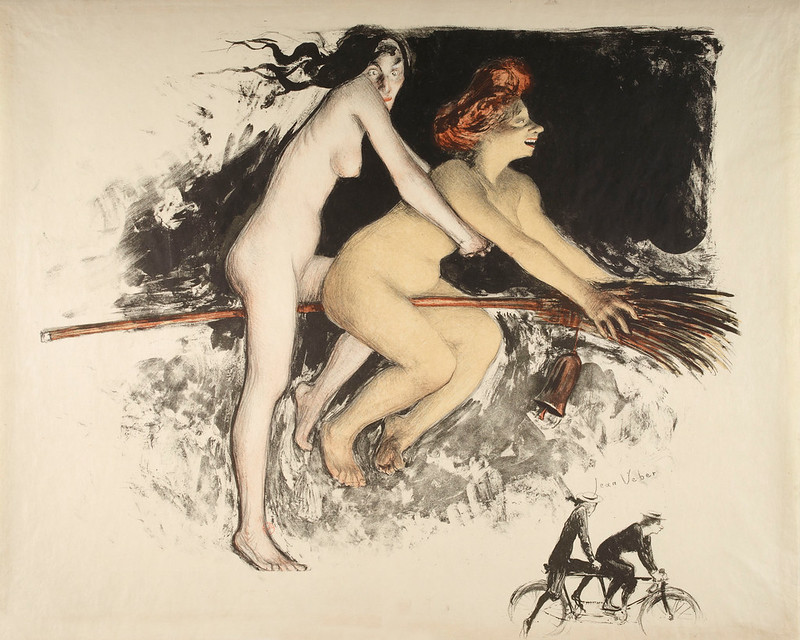 Jean Veber - The Witches, 1900