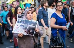 Suruç'taki katliamı protesto yürüyüşü / Protest gegen das Massaker in Suruç