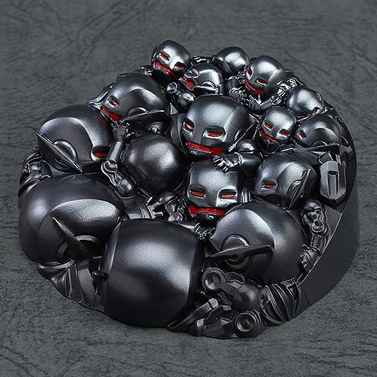 超Q組合登場!黏土人 - 鋼鐵人馬克43 VS 奧創軍團 套裝組