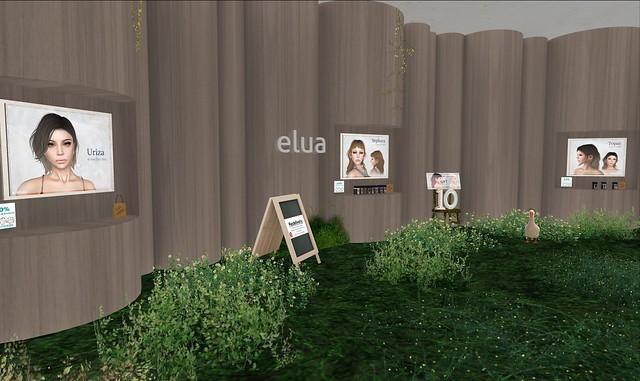Elua - Hair Fair 2015 - Redhead sim