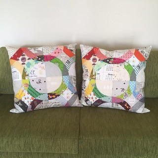 My amazing gorgeous pillows from Carmen