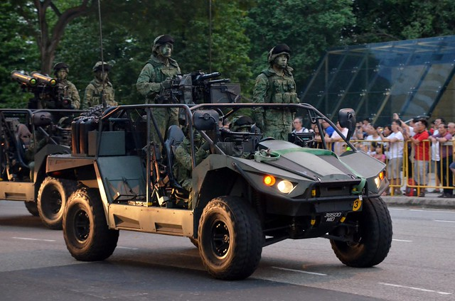 Singapore Army Light Strike Vehicle Mk II