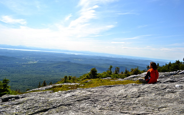 views of the green mountains vermont