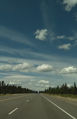 travel blue summer sky nature weather clouds oregon highway skies