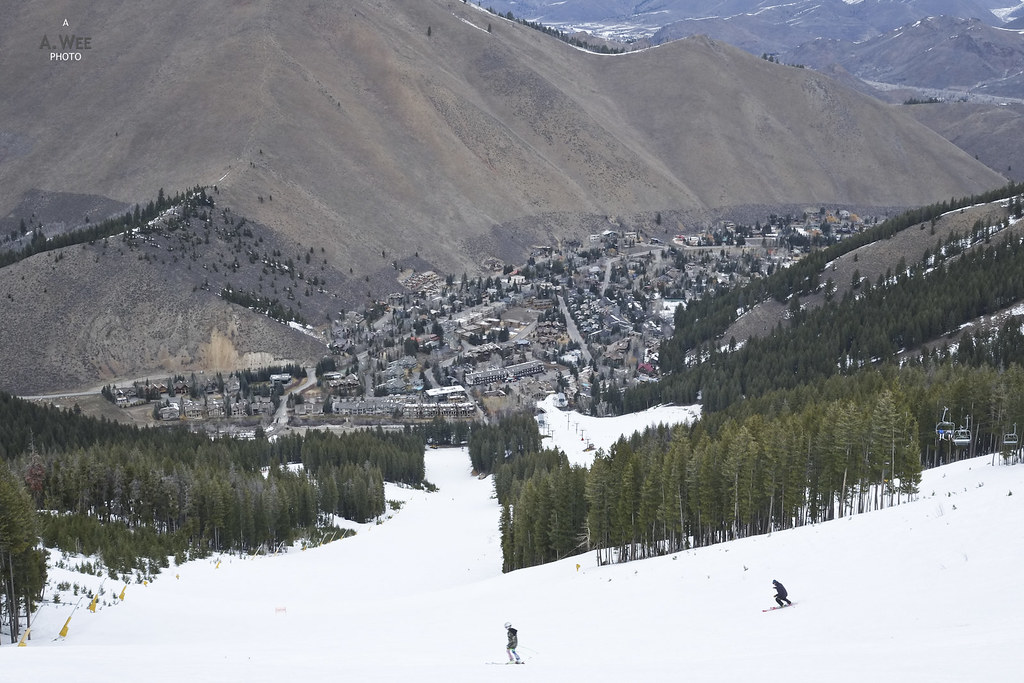 Skiing at Warm Springs