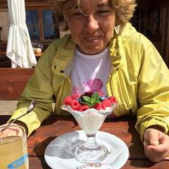 Facciamo merenda #dolomiti #visioni #yogurt #fruttidibosco