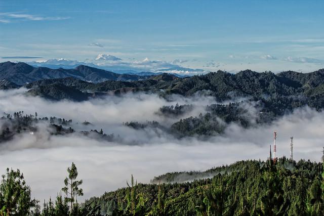 Montañas de humo Colombia Rionegro Antioquia
