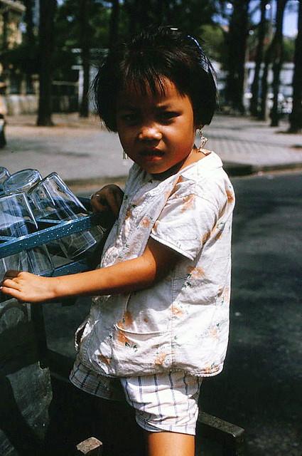 SAIGON 1966 - Cute Child