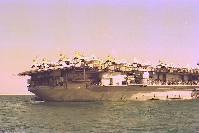 USS Midway CV-41 1977... Perth, W.A.
