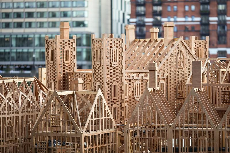1666 wooden model