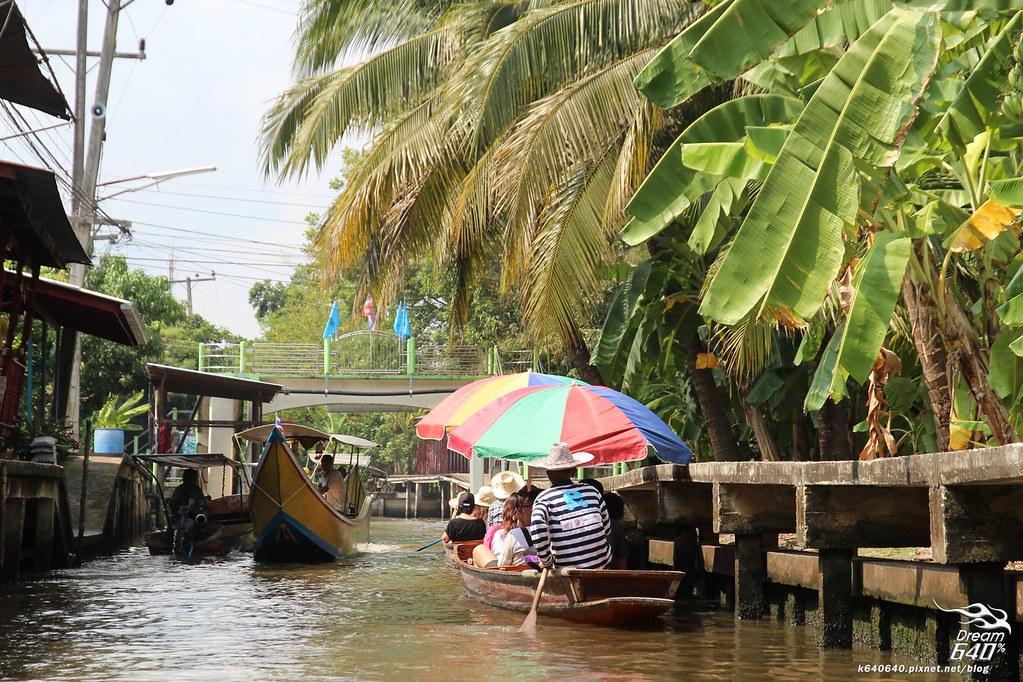 泰國曼谷-水上市場+美功鐵道市集+河濱夜市-49