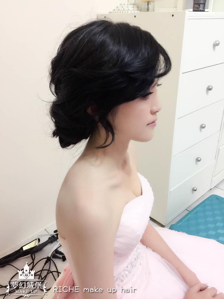 【新秘RICHE】bride旭靜 訂結婚造型 / 台中葳格國際會議中心