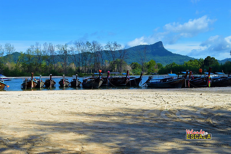 como ir a Railay beach por libre