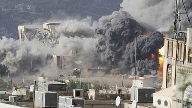 Bombardeos en Yemen