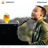 """Advertising is a big crap. How much cost a """"like"""" to have @johnlegend on Instagram?! That's all you think about to make money? What,s the connection with a Belgian beer and this great artist?! NOTHING. @stellaartois think a better spend of your money."""