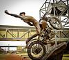 Harley-Davidson Hill-Climber Statue