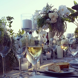 Woke up thinking about last night's dinner and wishing I could give a floral designer a hug. @terranearesort #client
