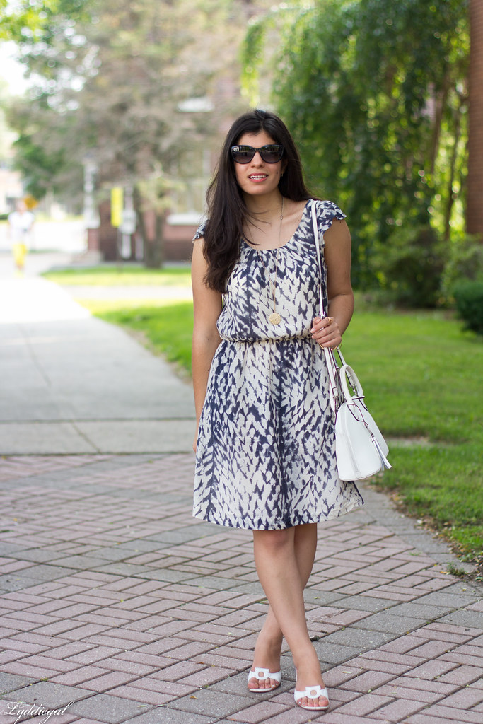 snake print dress, white bag, white sandals-2.jpg