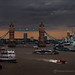 Traffic on River Thames by fesign