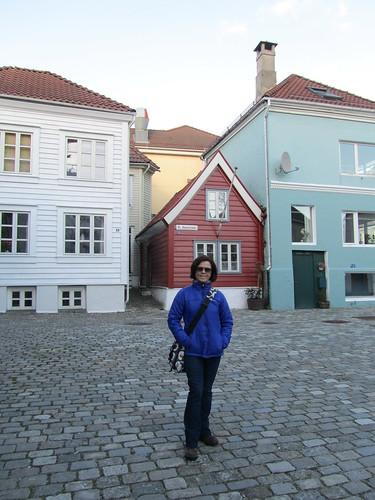 Casas pequeñas de madera en Bergeb