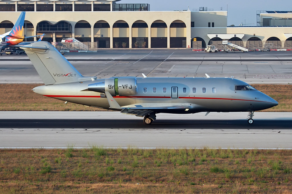 9H-VFJ - CL60 - VistaJet