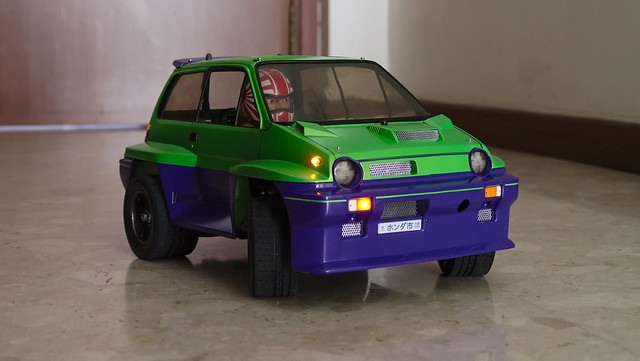 tamiya - [PHOTOS] Tamiya Honda City Turbo 19542544975_27f4d96ee0_z