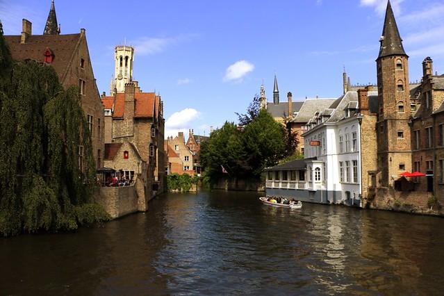 Bruges: scorci del centro