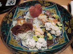 Japanese cuisine, sashimi: 刺身