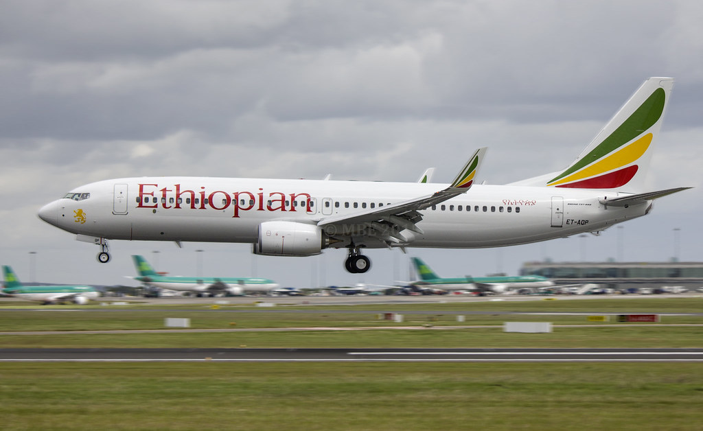 ET-AQP - B738 - Ethiopian Airlines