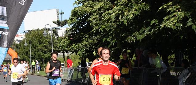 IMG_1363a En el lateral derecho de la pantalla tenéis a la primera corredora 1431, Berta Pan Veiras, con un tiempo de 00:25:28