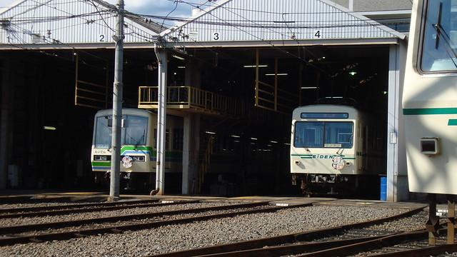 2015/07 叡山電車×わかばガール ヘッドマーク車両 #02