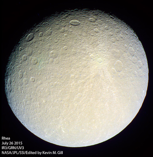 Rhea - July 26 2015 | by Kevin M. Gill