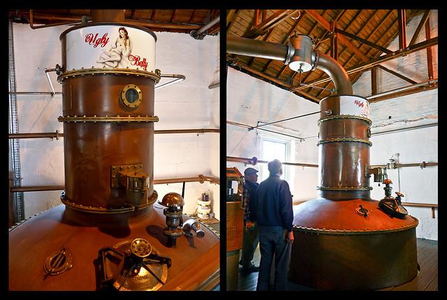 photo - Ugly Betty, Bruichladdich Distillery