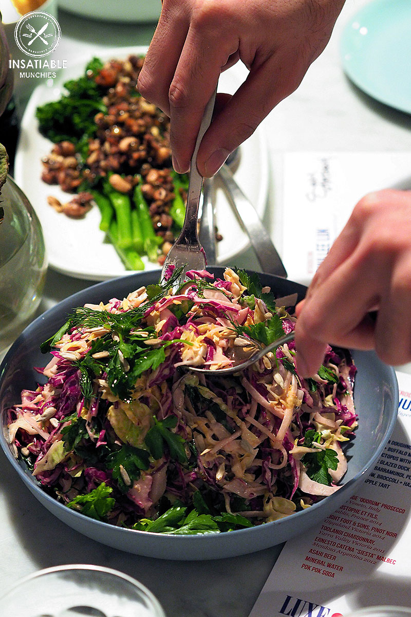 Sydney Food Blog Review of Luxe, Wollahra: Luxe Slaw