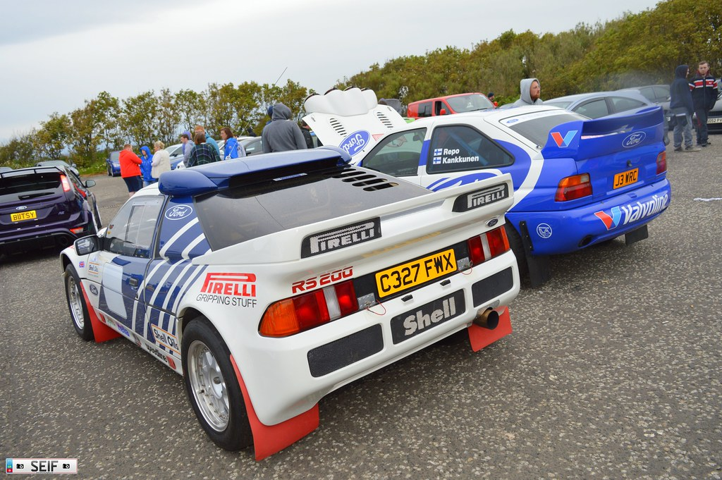 Ford RS200+Ford Escort RS Cosworth irvine 2015