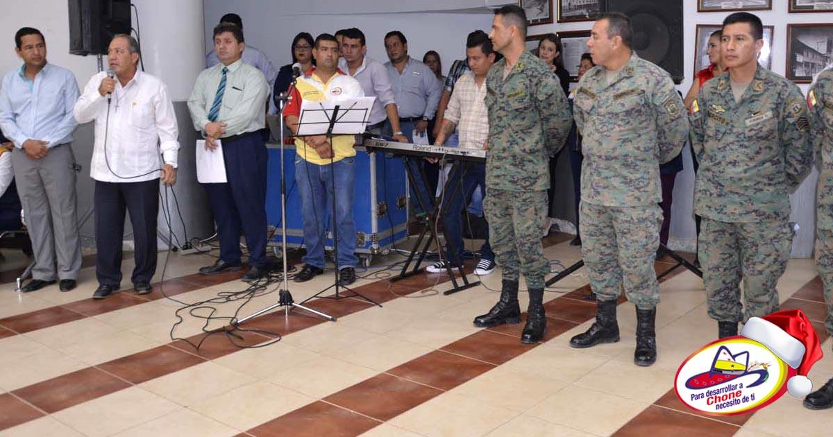 Municipalidad reconoció a militares solidarios