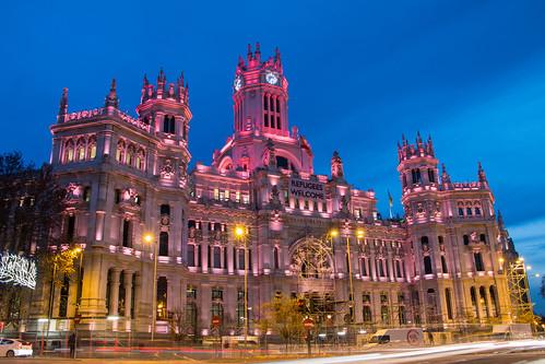 Ayuntamiento de Madrid / Palacio de Correos