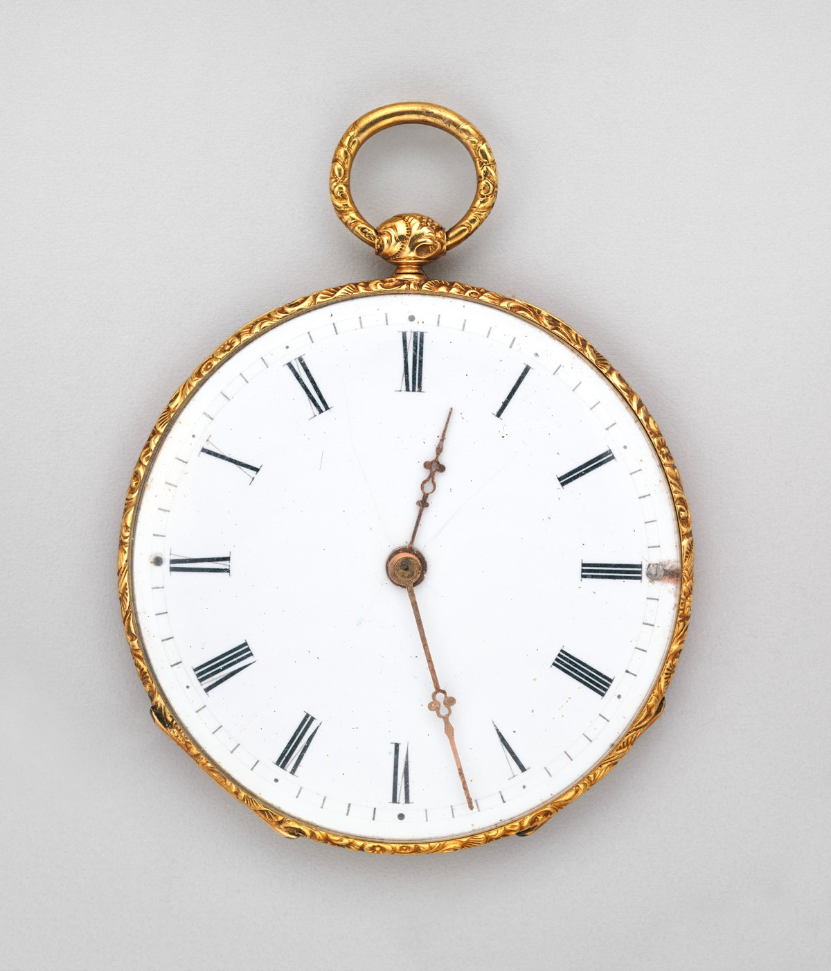 1830. Watch. Swiss, Geneva. Gold, enamel. metmuseum