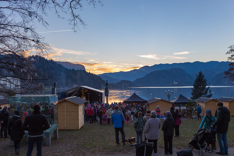Lake Bled Christmas Market