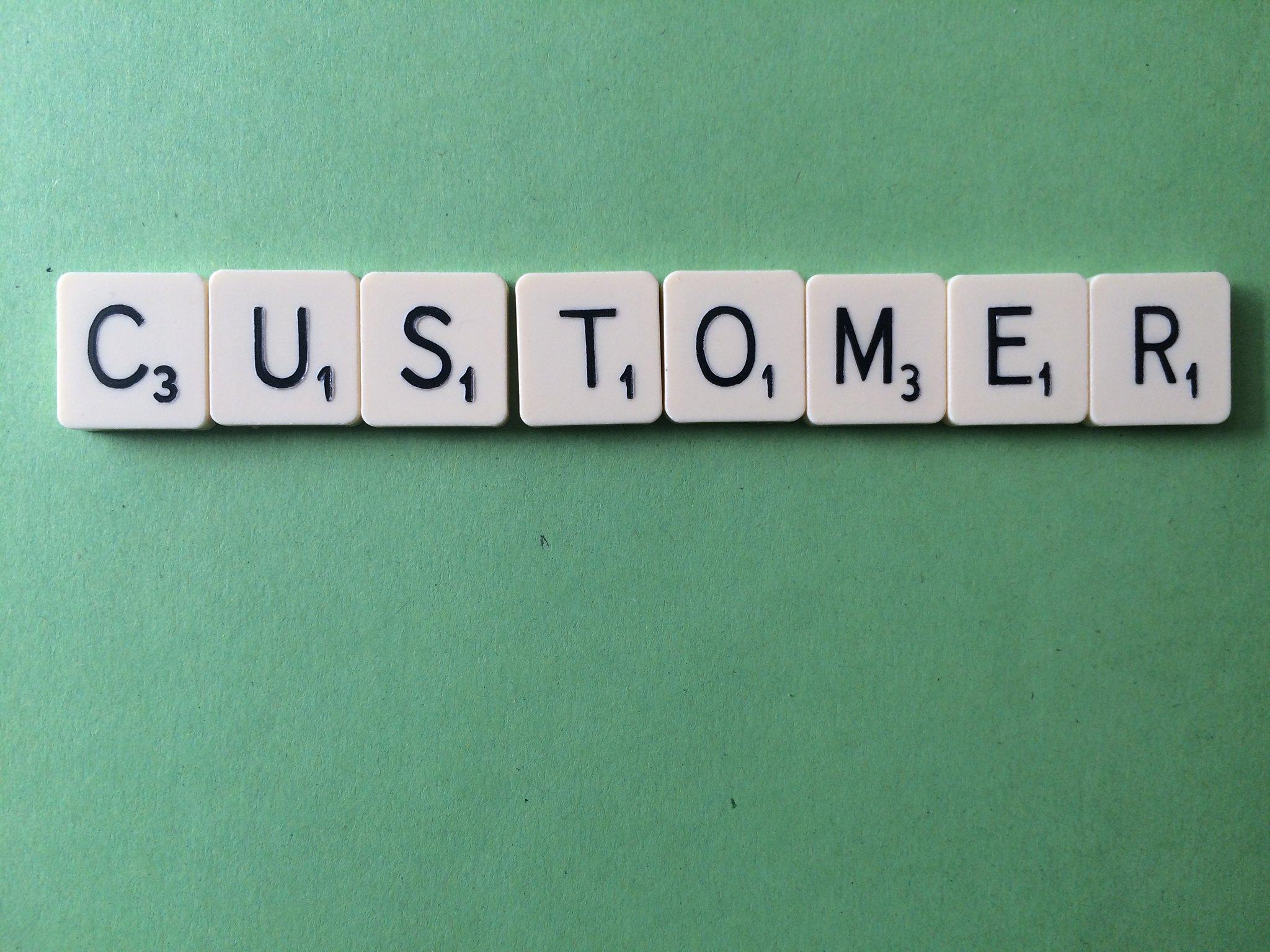 Customer Scrabble by Jeff Djevdet