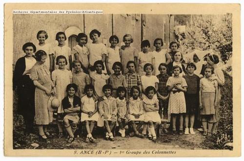 Ance (B.-P.) : 1er Groupe des Colonnettes