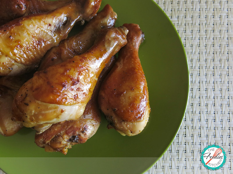 Orange Marinated Chicken Drumsticks