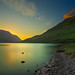 Sunset at crummock water by Asim237