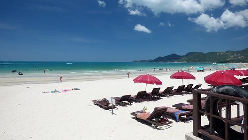 今日のサムイ島 6月30日 チャウエンビーチ中央