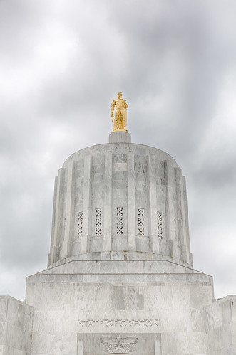 Oregon State Capitol Rotunda Exterior