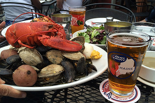 Maine - Boone's Lobster bake