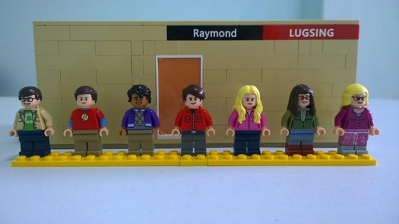 Review : #010 LEGO IDEAS - 21302 The Big Bang Theory 19626779462_85dd78ff71_c