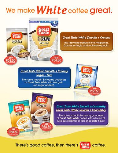 Great Taste White - Variants