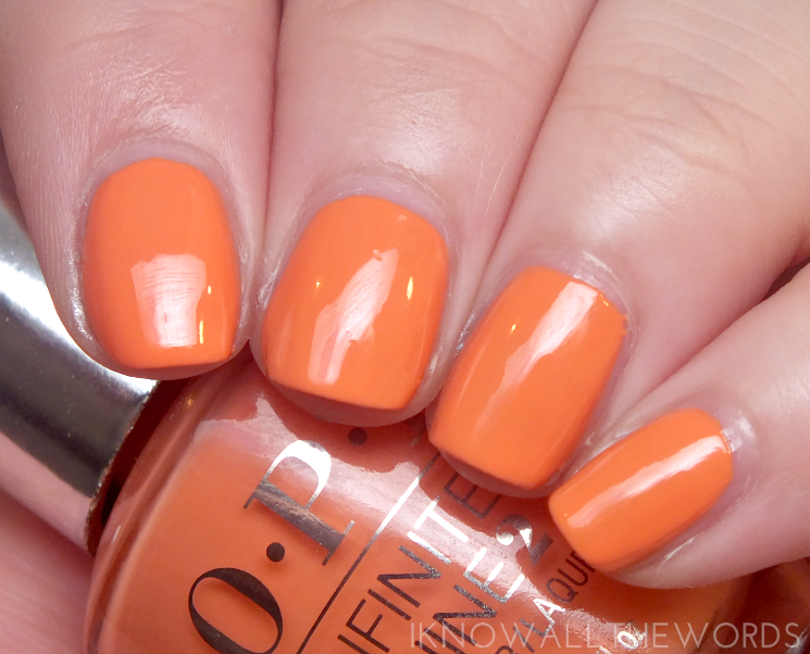 OPI infinite shine summer 2015 the sun never sets